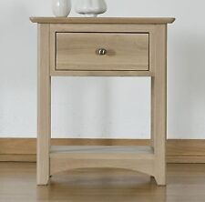 Chatsworth solid oak furniture side end lamp table night stand