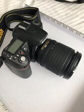 Nikon D80 Digital Camera w/AF-S Nikkor 18-135mm 1:3-5.6G ED lens With Bag