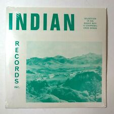 "INDIAN Records Inc. IR 335 ""Rocky Boy 17 Chippewa-Cree Songs"" Vinyl LP -(Sealed)"