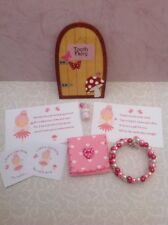 Tooth Fairy Kit, Fairy Door, Fairy Dust, Bracelet, Stickers And Fairy Letters