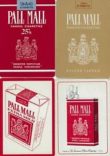 ADS - PALL MALL Cigarettes - 4  -  single vintage swap playing cards