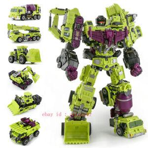 Jinbao Transformers Decepticon Combiner Wars Devastator Enlarged Version Stock