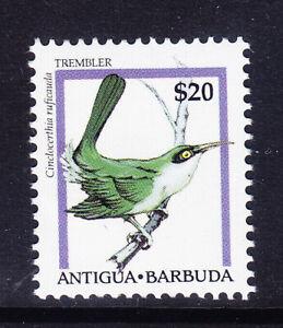 ANTIGUA 1995 SG2081 $20 Bird Brown Trembler HV of set unmounted mint. Cat £12
