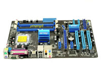 99% NEW ASUS P5P41D Motherboard LGA775 Intel G41 DDR2 ATX Mainboard + i/O Shield