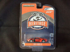 Greenlight 1:64 2017 Ford GT Racing Heritage Red 1967 #1 Ford MKIV GREEN MACHINE