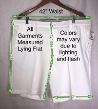IZOD Golf SwingFlex Shorts Stretch Waistband w/Shirt Stay Men's 42W NWT MSRP$60