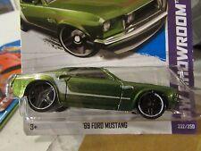 Hot Wheels '69 Ford Mustang HW Showroom Green