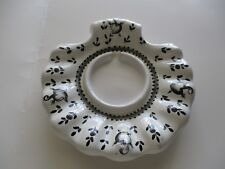 Italian Candle Holder Made In Italy 7 x 7 x 1 Inches Vintage Collectible