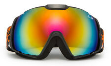 Mens Snow Ski Goggles Snowboard Large Double Lens Anti-Fog UV Protection Trendy