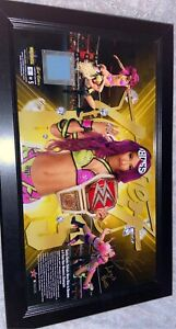 Sasha Banks Signed Autograph WWE
