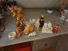 9  Engel Figuren, sehr hübsch  Tischdekoration