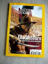 NATIONAL  GEOGRAPHIC  N° 263 - AOÛT  2021   /  GLADIATEURS ...