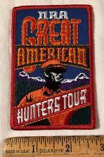 Nra Great American Hunters Tour Patch Firearm Gun National Rifle Association