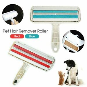 Pet Hair Remover Roller Dog Cat Sofa Clothes Cleaning Fur Remover Roller Plastic