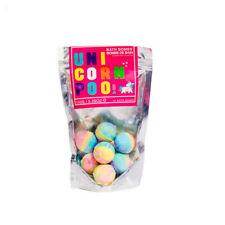 Magical Unicorn Poo Pack of Bath Bombs Gift Kids Girls Children Colourful Mini
