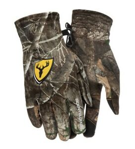 New! Scent Blocker Shield Underguard Gloves Realtree Edge Size Large Bowhunting