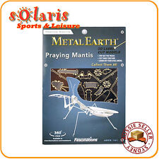 Fascinations Metal Earth Praying Mantis Laser Cut Miniature 3D Insect Model