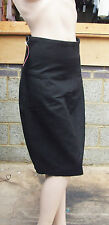 Yummie Mummie S BNWT Fabulous Black Shaper Secret Silhouette Control Black Skirt