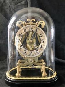 Antique skeleton clock fusee