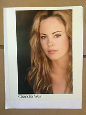 Chandra West, original vintage headshot photo with credits #2