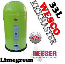 Abfallsammler Wesco Kickmaster 33l Limegreen (184631-20)