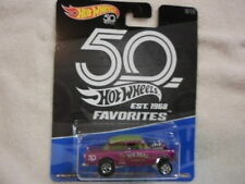 HOT WHEELS 50th ANNIVERSARY FAVORITES '55 CHEVY BEL AIR GASSER LQQK