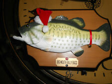 Vintage Big Mouth Billy Bass Christmas Edition 1999 Singing Motion Fish Tested