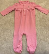 New Ralph Lauren Baby Girl Coverall 9M