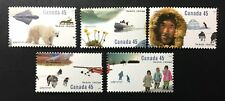 Canada #1574-1578 MNH, The Arctic Set of Stamps 1995