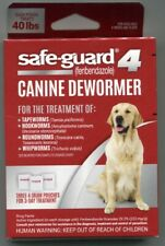 Safe-Guard 4 Fenbendazole 22% Canine Dewormer for 40-lb+ Dogs - New