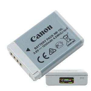 Original Canon NB-13L Battery for PowerShot G7X G5X G9X SX730 SX740 G7XII G9XII