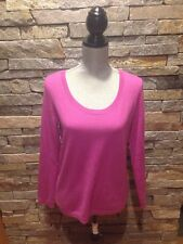 NWOT Talbots Pure Cashmere Sweater - Purple - Pink - Medium