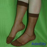 12 Pairs Men/'s Sheer Casual Dress Suit Socks Sheer See Through Soft Thin Pure
