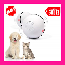 Ehh Interactive Cat Toy Cat Wicked Ball Usb Rechargeable Automatic Self Rotat.