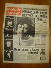 MELODY MAKER 1965 JUL 17 BYRDS DONOVAN YARDBIRDS