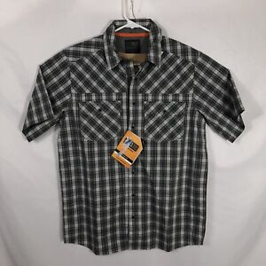 5.11 Tactical NWT Mens Size S Gray Pearl Double Flex Covert Button-Snap Shirt