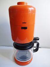 BRAUN Kaffeemaschine AROMASTER KF 20 Design F.Seiffert 1972
