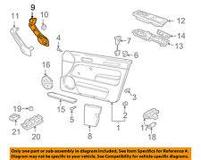 VW VOLKSWAGEN OEM 99-05 Jetta Front Door-Grip Handle Left 1J0867179CA94