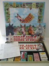 HORSEOPOLY / HORSE-OPOLY AGES 8+ 100% COMPLETE NICE CONDITION *FREE POST**