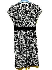 Black and white panda printed  Dress