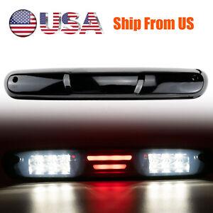 Fit For 2007-2013 GMC Sierra Chevy Silverado 1500 2500 3500 LED 3rd Brake Light