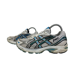 ASICS GEL-1120 Ladies Womens Trainers Size UK 4 EU 37 White Blue Sneakers Shoes