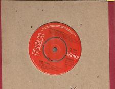 """Elvis Presley Way Down UK 45 7"""" single +Pledging My Love"""
