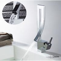 Waschbecken Wasserhahn Einzigen Handgriff Wasserfall Badezimmer Vanity Becken