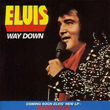 CD Single Elvis PRESLEY Way down 3-track CARD SLEEVE  ☆