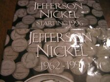 Set / collection Jefferson Nickels 1962  to 2017 p d