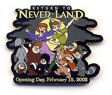 Disney Wdw - Return To Neverland - Peter Pan Lost Boys Opening Day pin/pins
