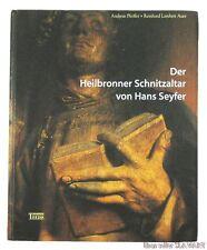 BOOK Medieval Wood Carving Heilbronn Altar Hans Seyfer German church sculpture