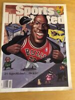 Sports Illustrated Magazine March 20 1995 Michael Jordan