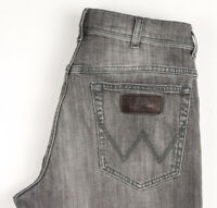 Wrangler Hommes Texas Jeans Jambe Droite Stretch Taille W34 L32 BCZ528